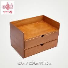 Japanese Desk Handmade Wooden Desk Wood Debris Cosmetic Storage Box Drawer
