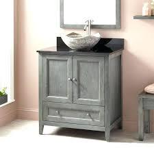 vessel sink and vanity combo vanity vessel sink top design teak vanity console with for vessel