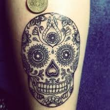 33 crazily gorgeous sugar skull tattoos sugar skull tattoos