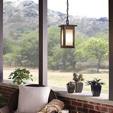 Pendant Porch Light Outdoor Exterior Lighting Fixtures For Garages Porches And