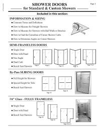 Shower Doors Prices Shower Door Prices Hourglass Kitchen Bath Products
