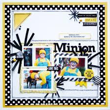 scrapbook minion u2014 u0026 big ideas