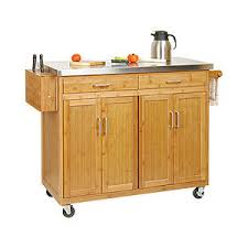 kitchen island big lots bamboo kitchen island with stainless steel top biglots