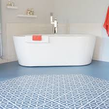Blue Bathroom Fixtures 37 Blue Bathroom Floor Tiles Ideas And Pictures Within Tile