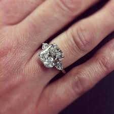 3 karat engagement ring best 25 radiant cut ideas on 7 carat