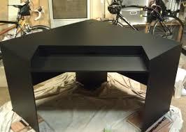 desk m1tur amazing pc gaming desk back lighting improved