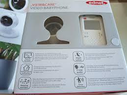 babyphone für 2 kinderzimmer ednet view care babyphone mit touchscreen produkttest24