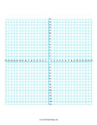 four quadrant graph paper one graph per page math aids com