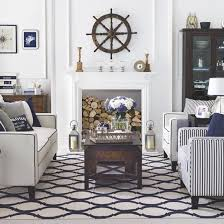 coastal themed decor nautical decor ideas living room meliving 044841cd30d3