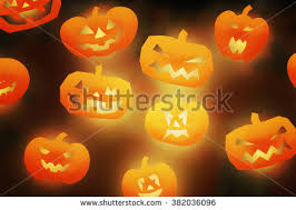 halloween lantern head pumpkins scary spooky stock photo 113099356
