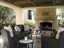 covered patio with fireplace exterior fireplace and covered pavilion mediterranean patio