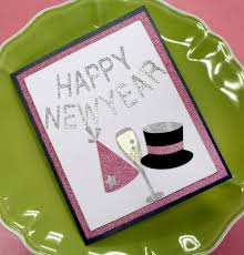happy new year paper cards happy new year card year new year cards