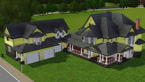 easy house plans for the sims 3