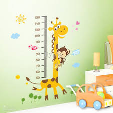 childrens room decoration stickers growth height chart stickers children decorative for kids bedroom nursery