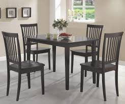 coaster oakdale cappuccino 5pc dining set 150152