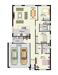 3 bedroom floor plan one story house plans with porches 3 to 4 bedrooms and 140 to