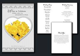 where to get wedding programs printed wedding program price list wedding programs fast