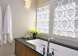 bathroom blinds ideas blinds for bathroom window treatments wonderful curtains kitchen