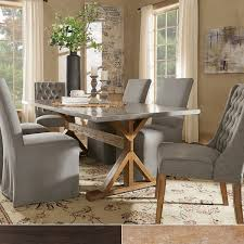 stainless steel dining room tables trumbull stainless steel dining table by inspire q bold free
