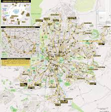 Madrid Subway Map by