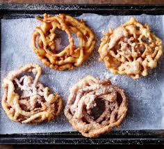 funnel cakes recipe bbc good food