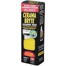 Rejuvenate Cooktop Cleaner Cerama Bryte Ceramic Cooktop Cleaning Pads 10 Pack Walmart Com