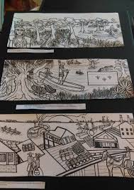 local artists meet speak on resilience with floodwall project