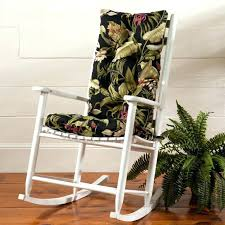 Rocking Chair Covers For Nursery Rocking Chair Cushions Outdoor Rocking Chairs With Cushions Image