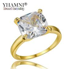 jewelry large rings images 2018 yhamni luxury big large 10mm stone solitaire ring top 5a cz jpg