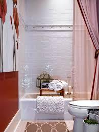 photos hgtv spa style master bathroom with stone tiled walls