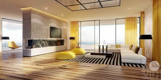Wood Floor Living Room Ideas 25 Gorgeous Yellow Accent Living Rooms