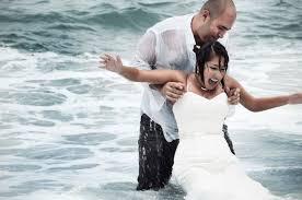 file trash the dress wetlook in wedding clothes heterosexual