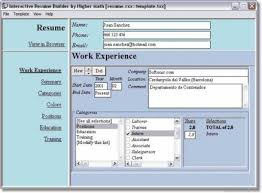 Easy Resume Creator Pro by Resume Maker Professional Resume Templates Resume Builder With