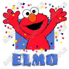 elmo birthday elmo birthday t shirt iron on transfer decal 7