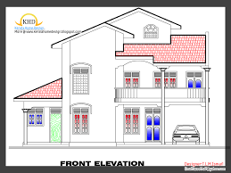 free home design plans 2266 square free home plan and elevation kerala home design