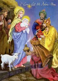3 kings come let us adore him box of 18 religious christmas cards