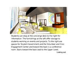 Interior Design Students Looking For Projects Student Union Building Sample Part 1