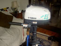 yamaha 4hp four stroke outboard motor standard short shaft as new