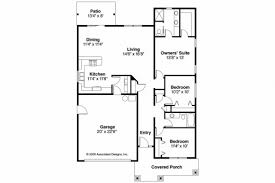 House Plans With 3 Bedroom Bungalow Floor Plans With Garage House Plan Ideas