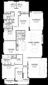 4 bedroom home plans 4 bedroom house plans home designs perth vision one homes