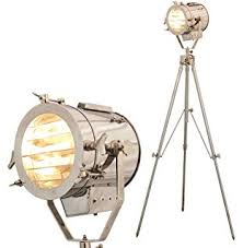 Spotlight Floor Lamp Hollywood Nautical Vintage Searchlight Steel Floor Lamp Spotlight