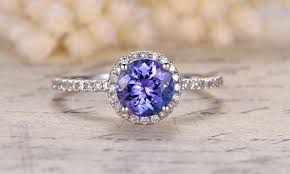 Blue Wedding Rings by 20 Something Blue Engagement Rings From Etsy Southbound Bride