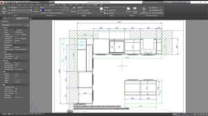 3d basic kitchen in autocad dimensioning exporting to pdf youtube