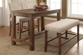 furniture of america sania counter height dining table