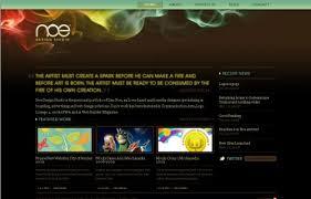 webseiten design 22 webdesigns mit beeindruckenden lichteffekten