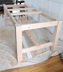 Best  Diy Wood Table Ideas On Pinterest Diy Table Diy Bench - Build dining room table