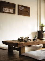 wooden table and chair cushions pinteres - Japanese Style Sheesham Wood Wooden Center Coffee Table Ebay