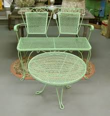 Best Wrought Iron Patio Furniture - retro metal outdoor furniture simple outdoor com