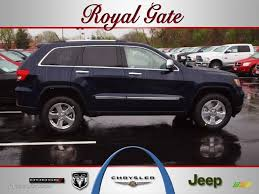 royal blue jeep 2012 true blue pearl jeep grand cherokee limited 4x4 62757191