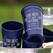 plastic engagement party souvenir stadium cups 22 oz